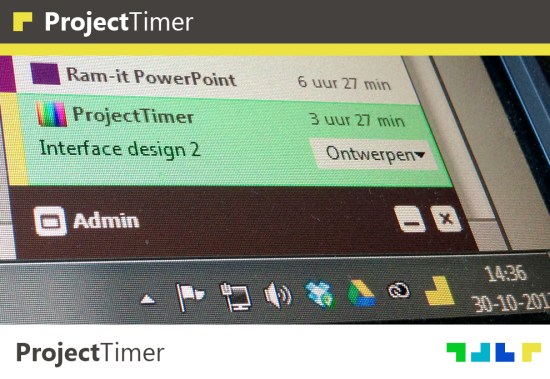 Project Timer - Trayicon Timer for Windows