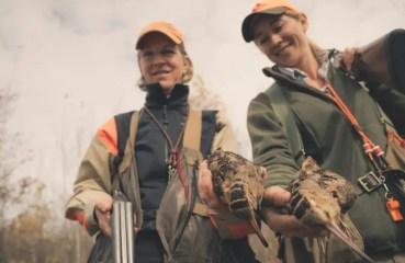women hunting