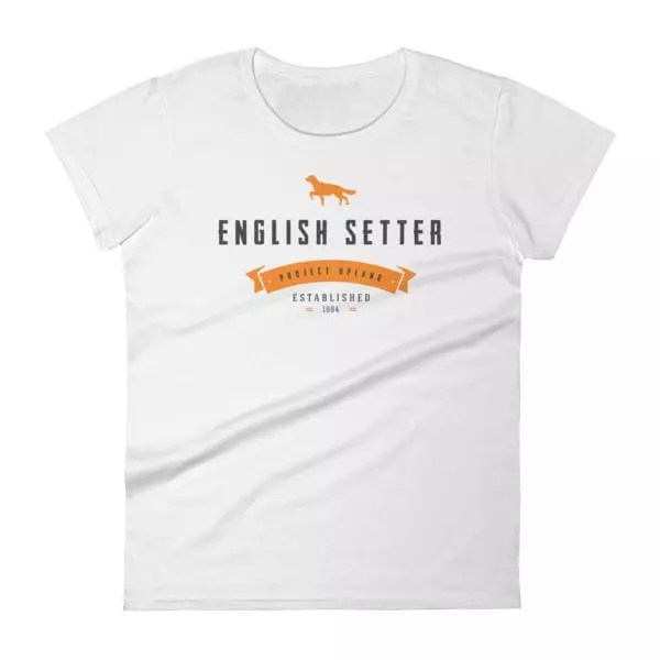 Women's English Setter T-Shirt