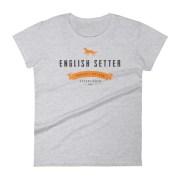 Women's English Setter T-Shirt