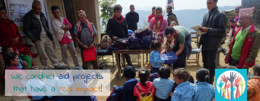 Our Aid Projects have a real impact!