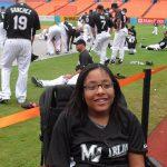 Cerebral Palsy Author Tylia Flores Softball Player