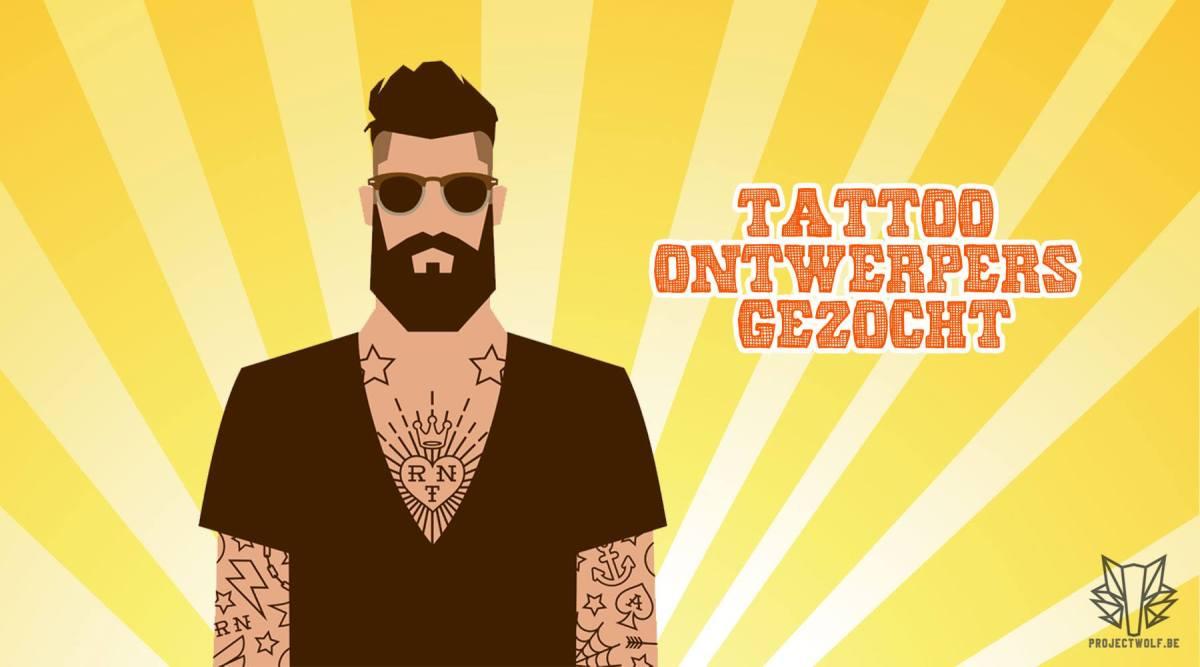 Tattoo ontwerpers gezocht!