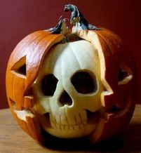 Halloween pompoen (Foto: Pinterest)