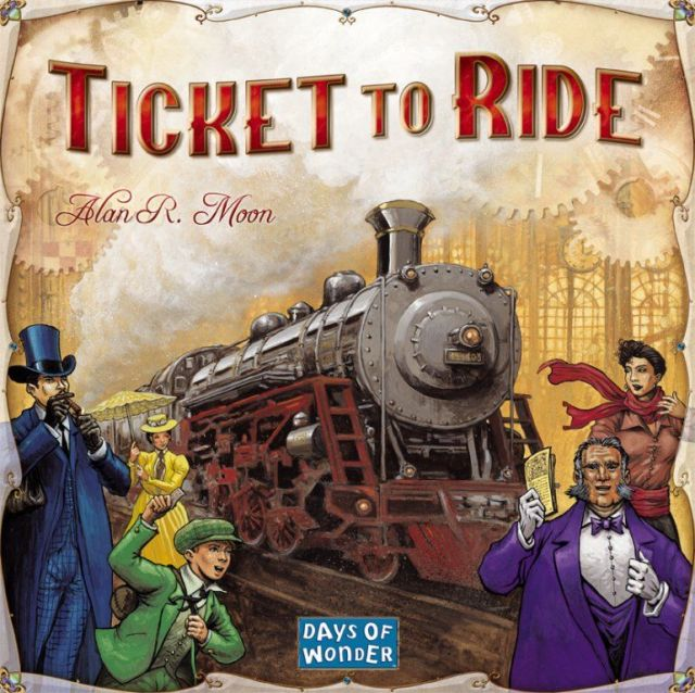 Ticket to Ride boardgame