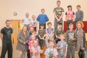 Glossop parkour classes awards evening