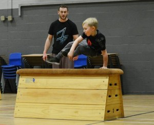Leigh parkour classes