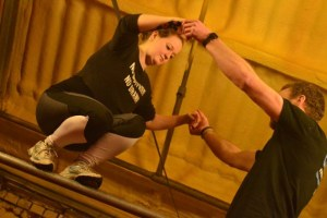 Picture showing new Stockport parkour taster class for adults