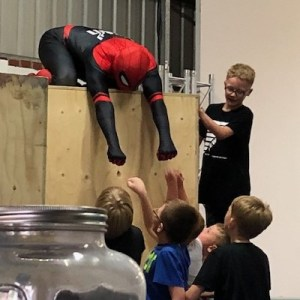 Spiderman Parkour Parties