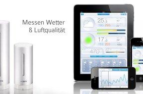 Potentielle «Wetterstation» mit iOS Anbindung
