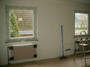 Neue Fenster und Heizungen