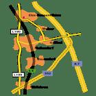Anfahrtskizze Projekt-Lernhilfe, Schülernachhilfe in der Wedemark, Langenhagen, Kaltenweide und Schwarmstedt