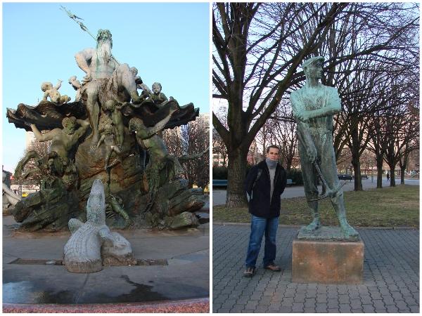 Estatuas Alexanderplatz