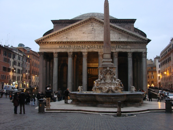 O Pantheon de Roma