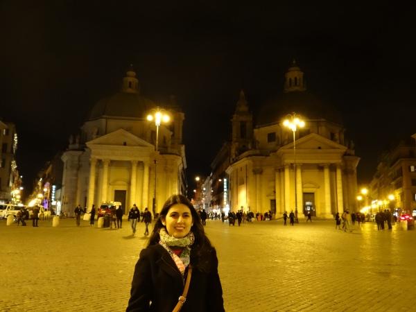 """As igrejas """"irmãs gêmeas""""Santa Maria in Montesanto e Santa Maria dei Miracoli"""