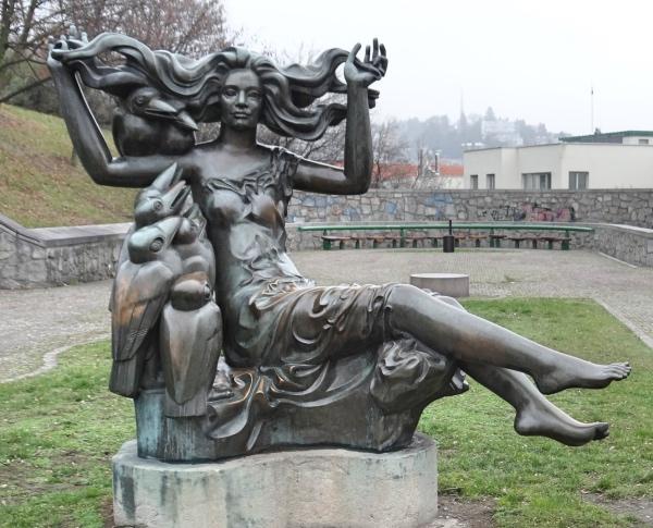 Estatua em Bratislava