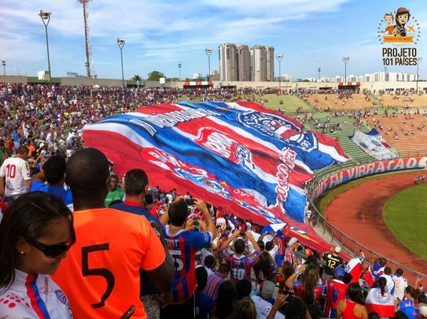 O último jogo do Bahia que assisti no Estádio Pituaçu - 2011