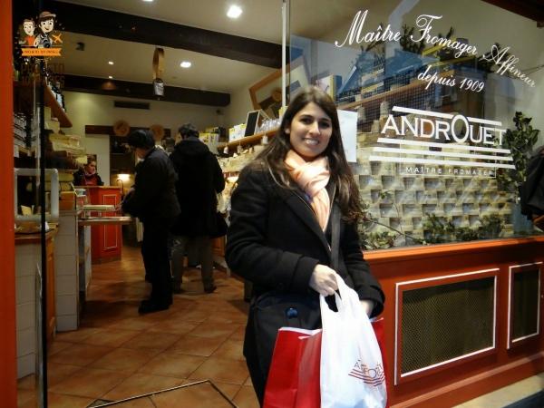 Paris Boutique de queijos Androuet