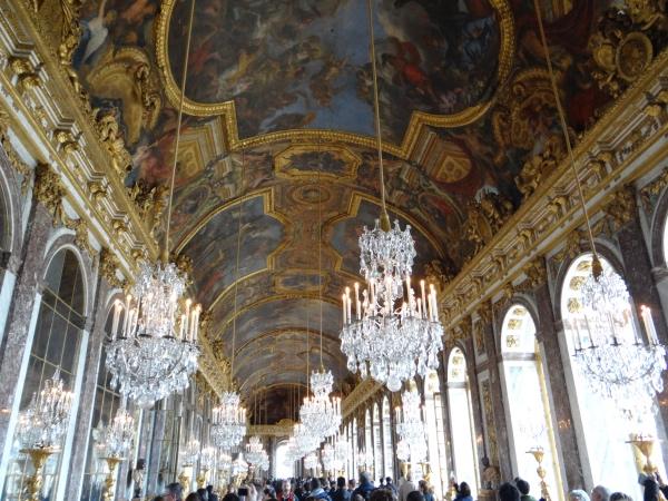 Salao dos Espelhos Palacio de Versalhes