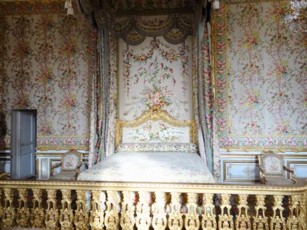 A cama da rainha