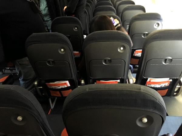 Novos assentos easyJet