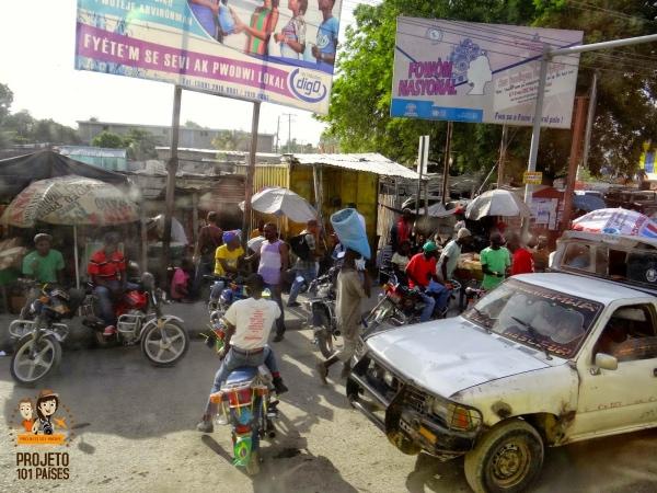 E chegamos a Porto Príncipe!