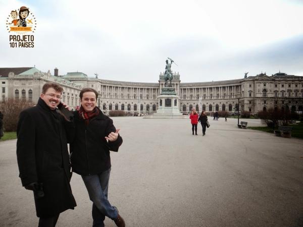 Reencontro amigo austriaco intercambio