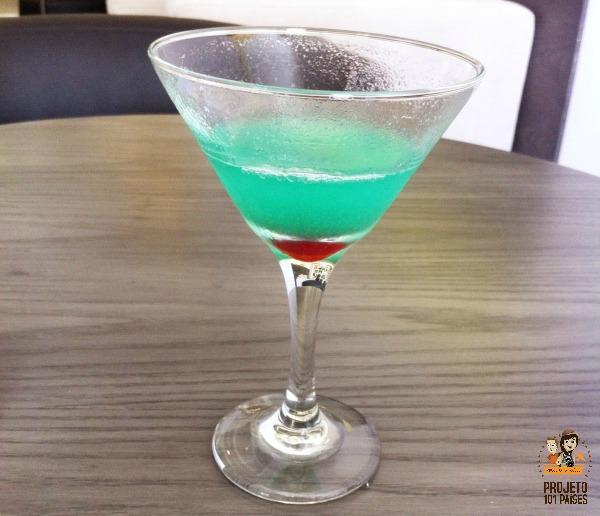 Drink de boas vindas Melia