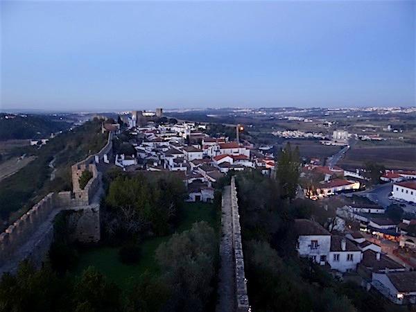 As construções medievais fazem de Óbidos uma das sete maravilhas de Portugal