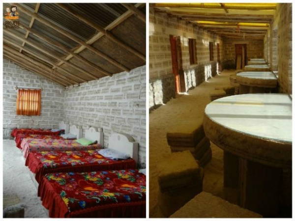 O hotel de sal do Salar de Uyuni