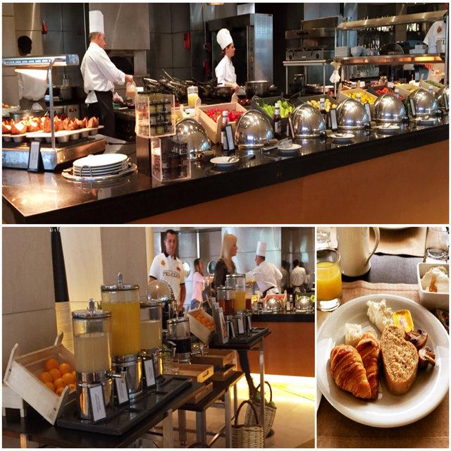 Café da manhã Hilton