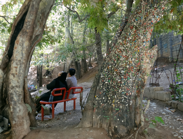Casal em Shiraz