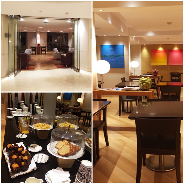 Lounge Executivo Hilton Atenas