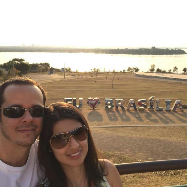 Dia de turismo em Brasília!