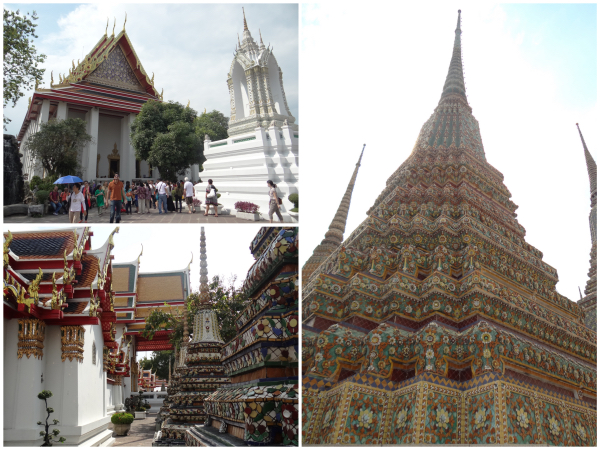 Dentro do Wat Pho