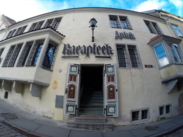 Farmácia mais antiga de Tallinn