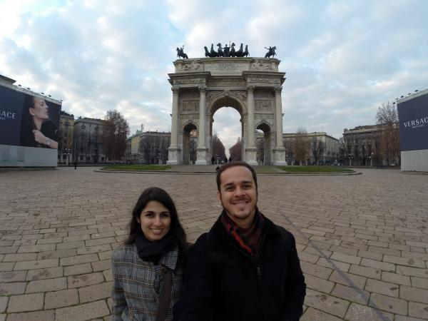 Arco della Pace, em Milão