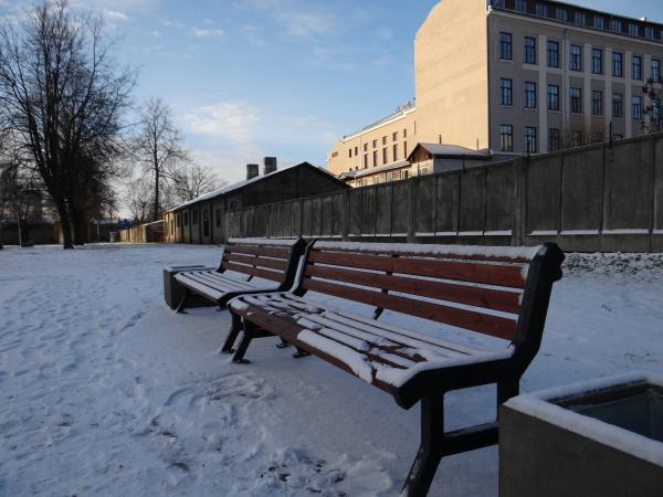Winter in Riga