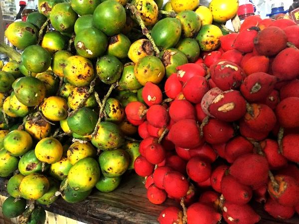 Frutas exóticas mercado central PVH