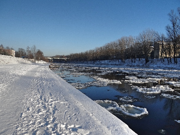 Margens do Rio Neris Vilnius