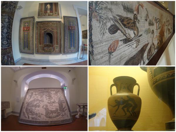 Pompeia no Museu Arqueológico de Nápoles