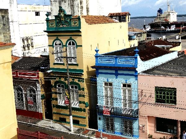 Arquitetura do centro de Manaus