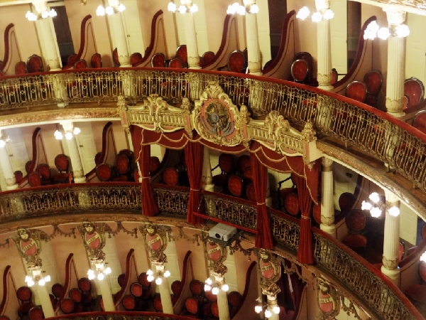 Camarote do Governador Teatro Amazonas