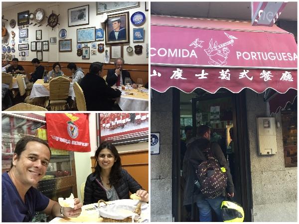 Comida portuguesa em Macau
