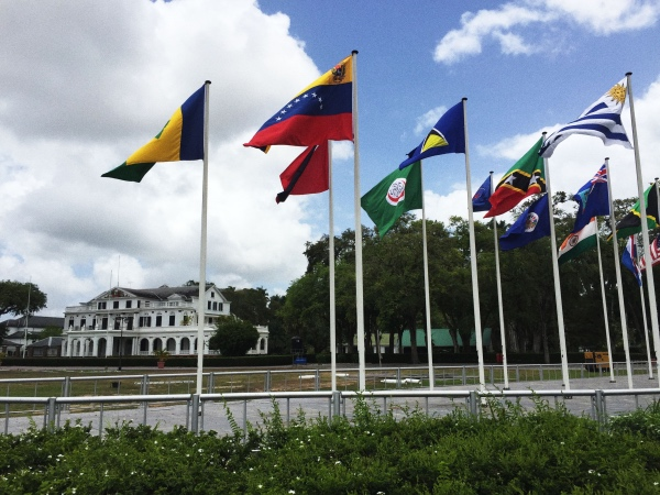 Independence Square Paramaribo