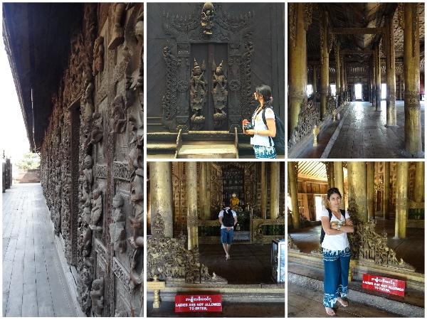 Mandalay Shwenandaw Monastery