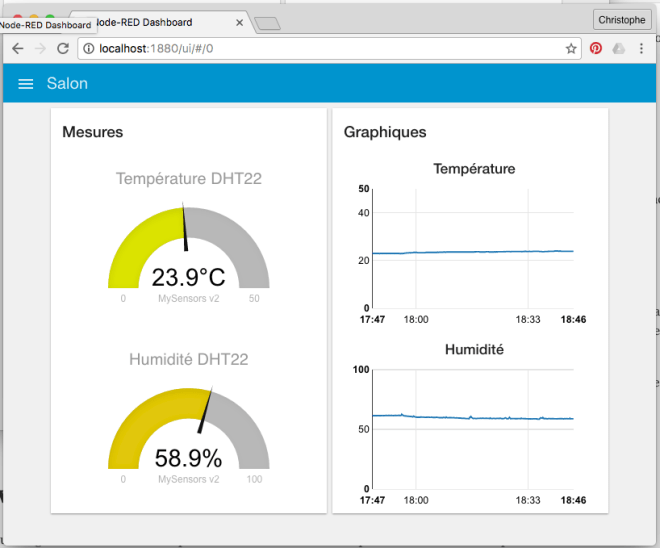 node-red mysensors dht22 dashboard