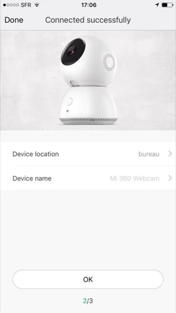 xiaomi mijia camera panoramic 360 - device name