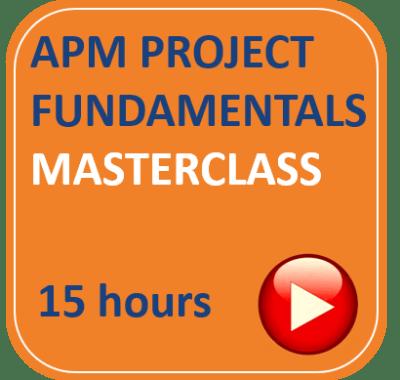 APM PFQ Project Management Fundamentals Qualification APM