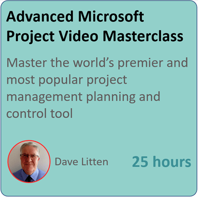 advanced microsoft peojct video masterclass